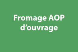 fromage aop ouvrage